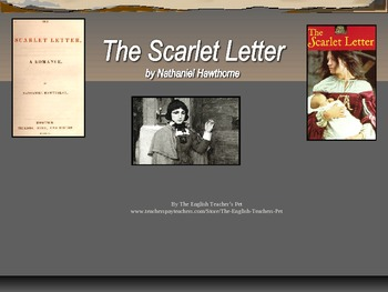 The Scarlet Letter Chapter Discussion Notes PowerPoint