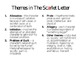 The Scarlet Letter Themes and Student Notes PowerPoint