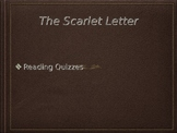 The Scarlet Letter Chapter Quizzes