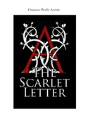 Editable The Scarlet Letter Character Profile