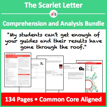 The Scarlet Letter – Comprehension and Analysis Bundle