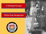 The Scarlet Letter: Five Writing Prompts to Produce SIngle