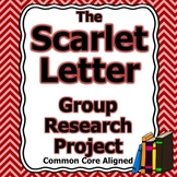 The Scarlet Letter Group Research Project