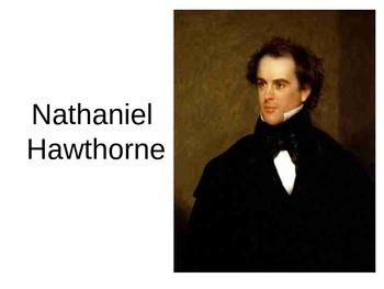 The Scarlet Letter Hawthorne PowerPoint Novel Life Vocabulary