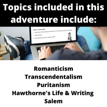 The Scarlet Letter:  Introduction to Hawthorne's Puritans via Virtual Fieldtrip