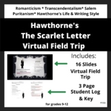 The Scarlet Letter:  Introduction to Hawthorne's Puritans