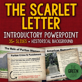 The Scarlet Letter Introductory PowerPoint, Activity, and Discussion