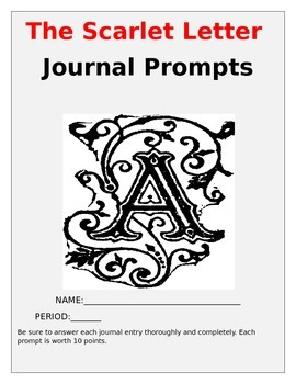 The Scarlet Letter Journal Prompts {10}