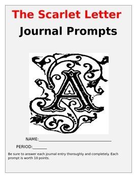 The Scarlet Letter Journal Prompts {10}