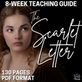 Scarlet Letter Teaching Guide, Lesson Bundle for Hawthorne's The Scarlet Letter