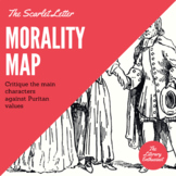 The Scarlet Letter - Morality Map