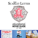 The Scarlet Letter Movie Guide | Questions | Worksheet (R - 1995)