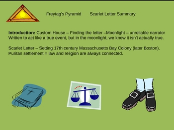 The Scarlet Letter Overview Powerpoint