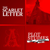 The Scarlet Letter - Plot Study (Graphic Organizer Collection)