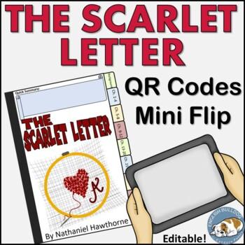 The Scarlet Letter QR Mini Flip