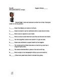 The Scarlet Letter Reading Quiz Chapter 5&6