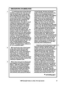 The Scarlet Letter Triplet English Skills worksheet by Applied Practice