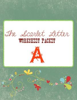 The Scarlet Letter Worksheet Packet
