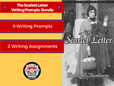 The Scarlet Letter: Writing Prompts Bundle