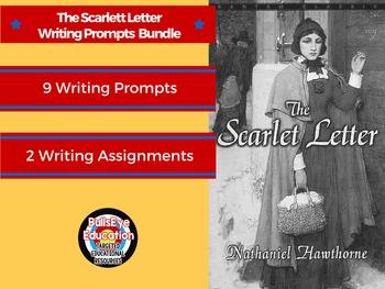 The Scarlet Letter: Writing Prompts Bundle