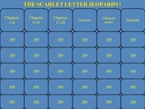 The Scarlet Letter by Nathaniel Hawthorne PowerPoint Jeopardy Game