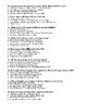 The Scarlet Letter ch. 1-5 multiple choice quiz WITH KEY
