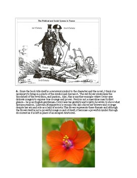 The Scarlet Pimpernel -- Reading Strategies and Supplementary Texts