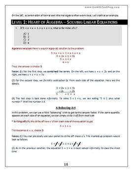 The Scholarly Unicorn's SAT Math Advanced Guide