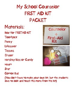 The School Counselor First AID KIT