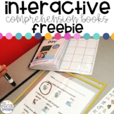 The School Day: Interactive Comprehension Book FREEBIE