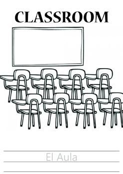 The School (La Escuela) Spanish Vocabulary