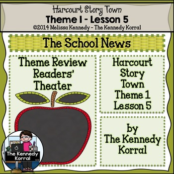 The School News {Lesson 5}