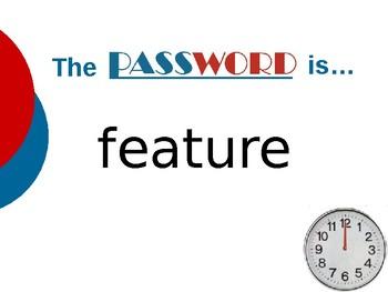 The School News - Vocabulary Password