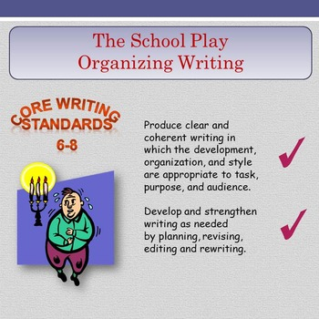 'The School Play' - Organizing Writing