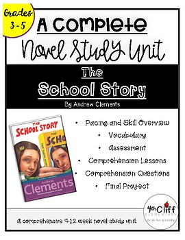 The School Story Complete Unit BUNDLE