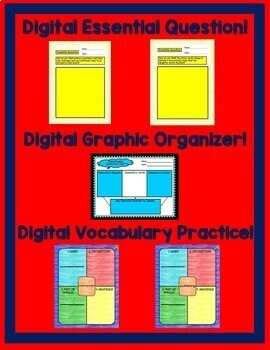 The School Story Journeys 6th Grade Lesson 1 Google Digital Resource