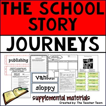 The School Story Journeys 6th Grade Supplemental Materials