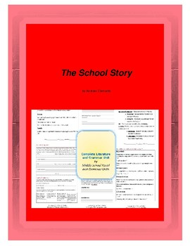 The School Story Complete Literature and Grammar Unit