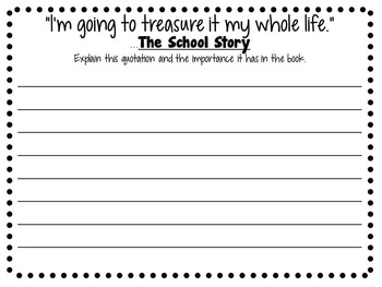 The School Story by Andrew Clements- A Complete Novel Study!