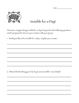 The Schoolyard Mystery Comprehension Packet