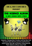 The Science Album - 15 mp3 Songs and Lyrics - Mr A, Mr C a