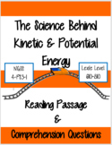 The Science Behind Kinetic & Potential Energy-Reading Passage & Questions