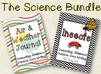 The Science Bundle: Air and Weather + Insects