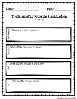 The Science Fair From the Black Lagoon