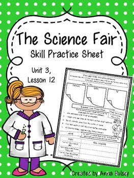 The Science Fair (Skill Practice Sheet)