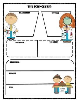 The Science Fair Story Map Graphic Organizer