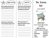 The Science Fair Trifold - Journeys 3rd Grade Unit 3 Week 2