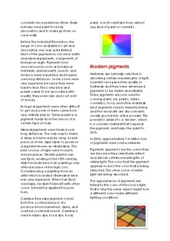 The Science and Art of Color