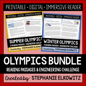 The Science and Engineering of Olympic Games Bundle