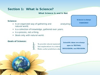 The Science of Biology PowerPoint